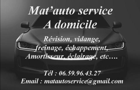 MATAUTO SERVICE MECANICIEN A DOMICILE